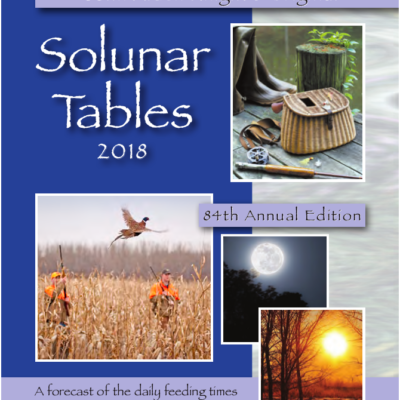 Solunar tables john alden knight 39 s original for Solunar table hunting and fishing